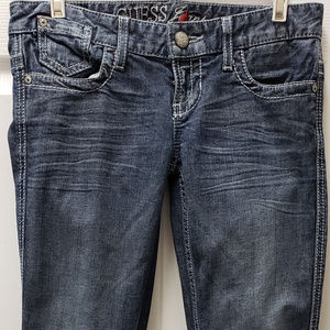 GUESS Starlet Straight Leg Jeans 30 x 34
